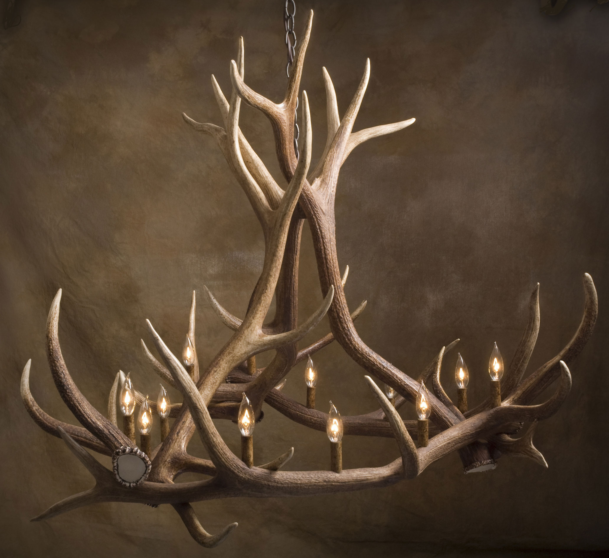 Antler Art and Design Antler lamps tables chandeliers