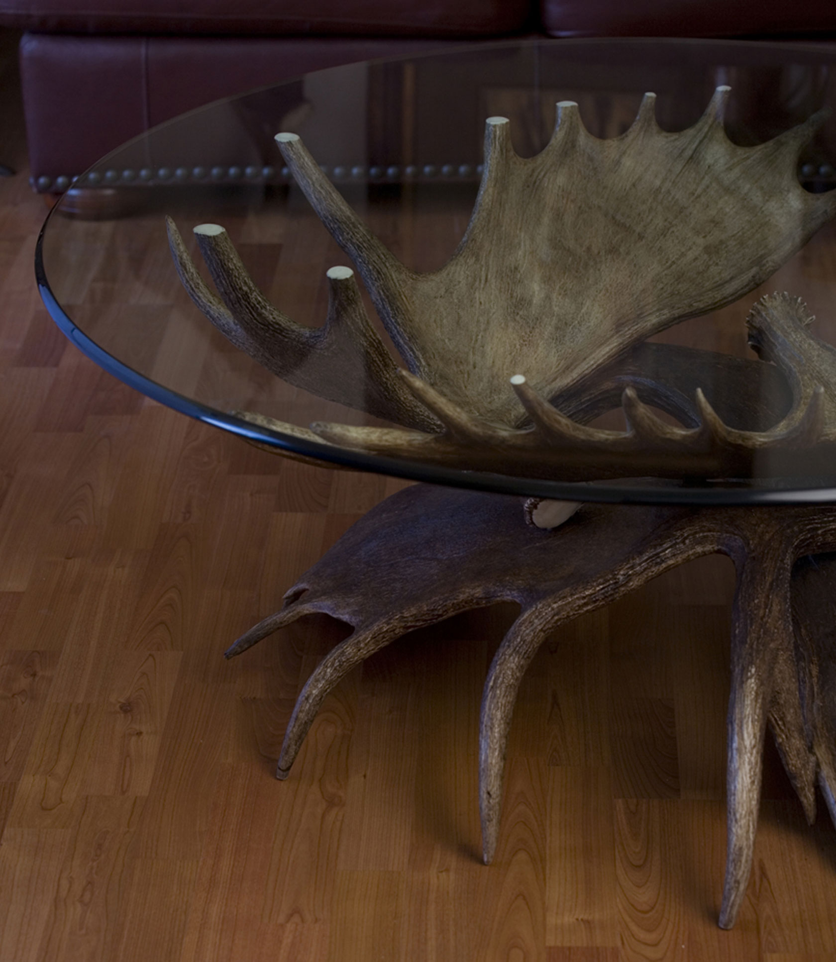 Moose Antler Coffee Table Or Elk Table
